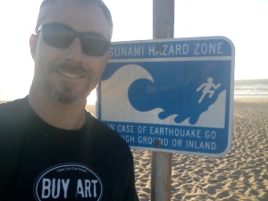 Buy Art Tsunami Hazard Zone